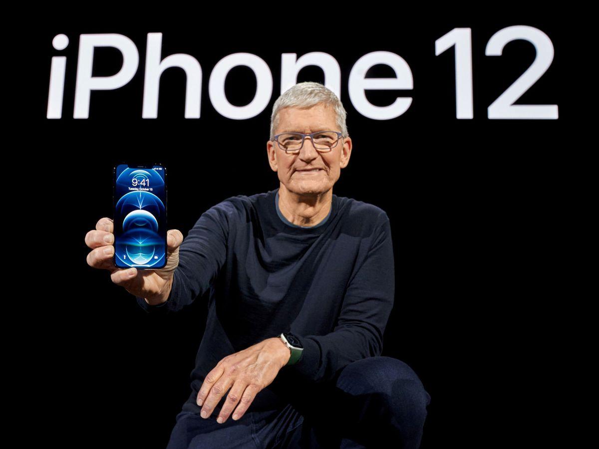Foto: El CEO de Apple, Tim Cook. (Reuters)