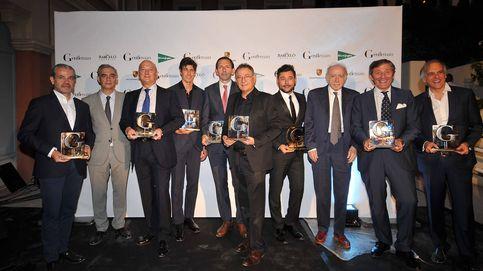 Reunión de famosos en la IV edición de los Premios Gentleman