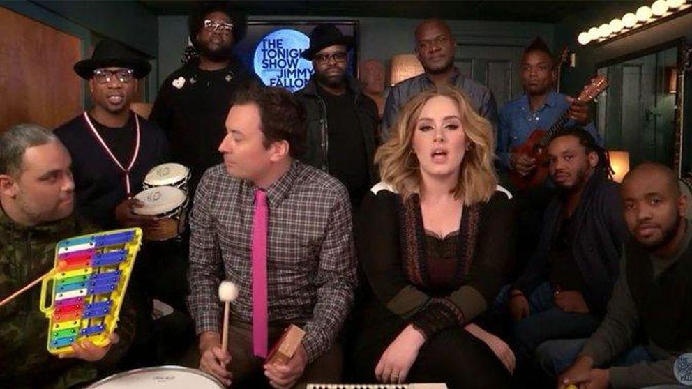 Adele versiona 'Hello' con instrumentos infantiles