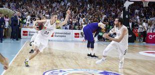 Post de El triple para la historia de Carroll que deja al Real Madrid un paso del título de la ACB