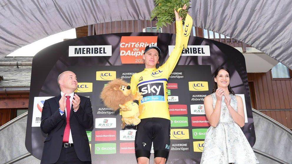 Froome gana el Dauphiné y manda un aviso a sus rivales para el Tour