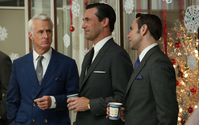 Foto: Las cenas de empresa. Ese invento tan americano (Fotograma 'Mad men' / AMC)