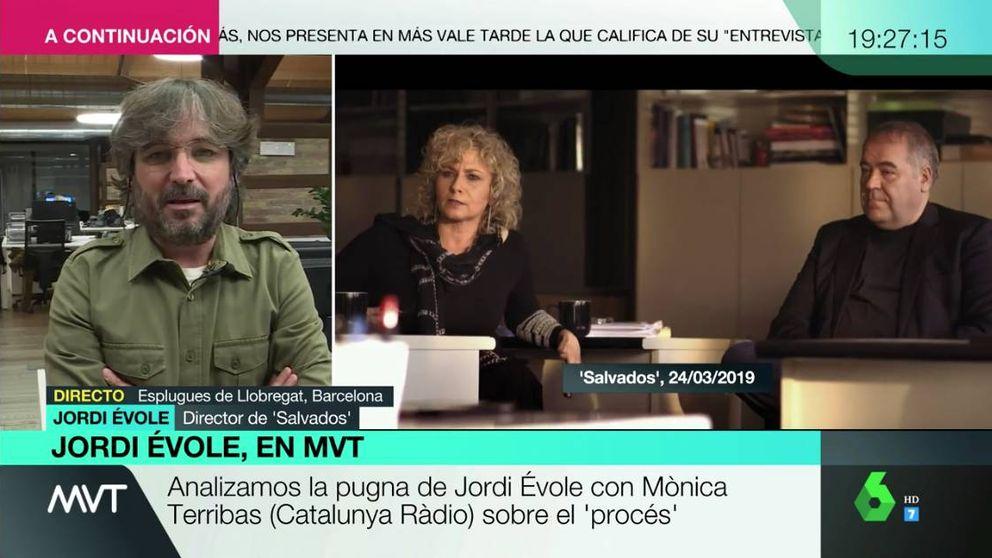 Primeras palabras de Jordi Évole tras el tenso rifirrafe con Mònica Terribas