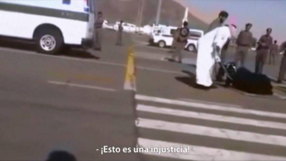 Foto: Imagen de una ejecución en Arabia Saudí