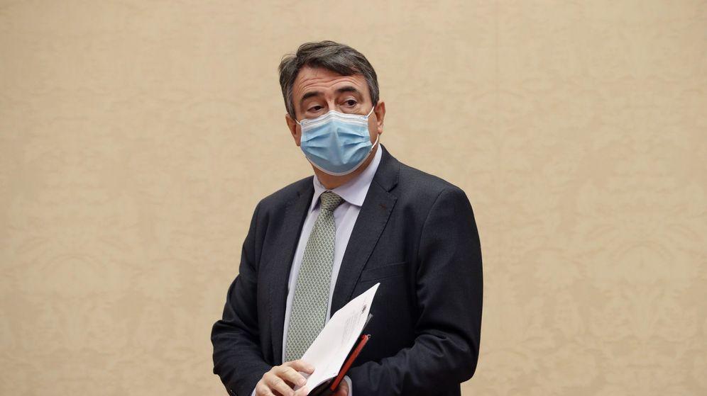 Foto: El portavoz del PNV en el Congreso, Aitor Esteban. (EFE)