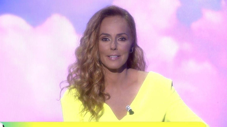 Rocío Carrasco, en 'Sálvame'. (Mediaset España)