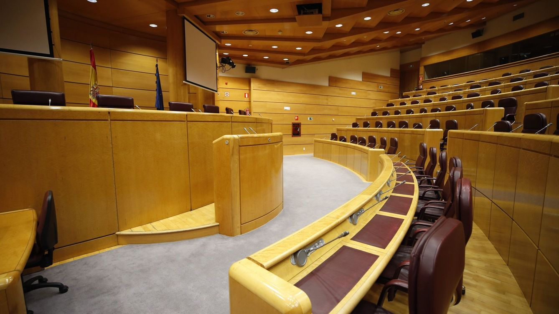 Foto: Vista de la Sala Europa del Senado. (EFE)