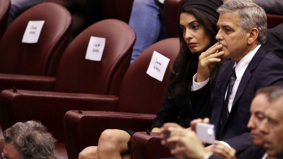 """Amal Clooney golpea a Trump y trata de poner límites a sus """"barbaridades"""""""
