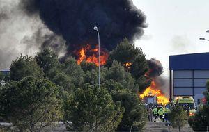 10 muertos al estrellarse un F-16 griego en la base de Albacete