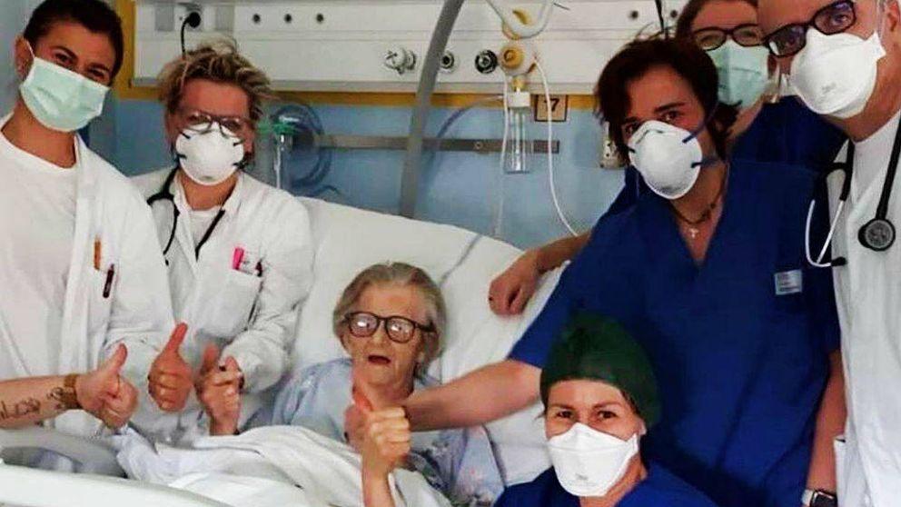 'Nonna' Alma: la mujer que derrotó al virus con 95 años y da esperanzas a toda Italia