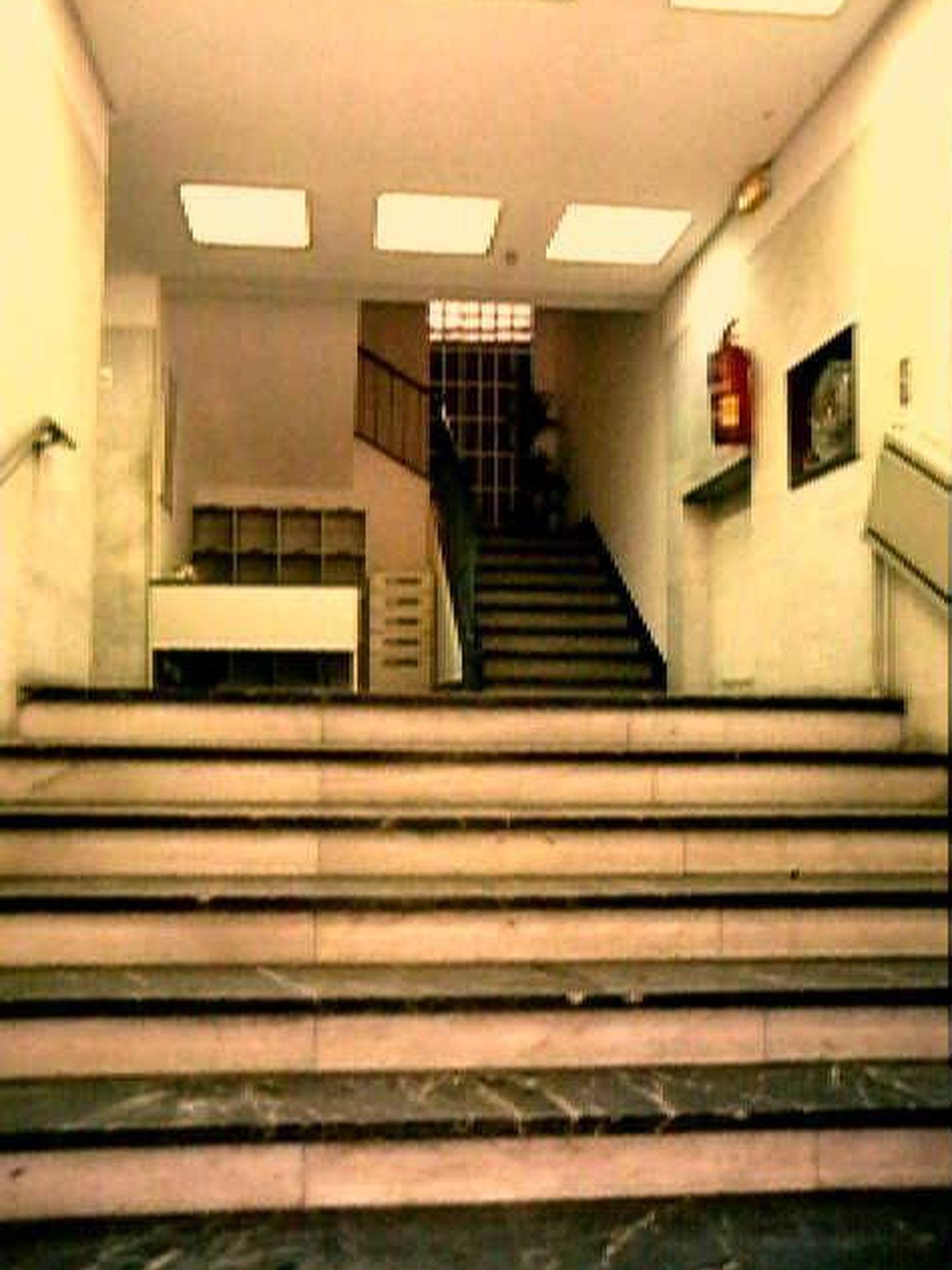 Interior del edificio. (Foto: Ayuntamiento de Madrid)
