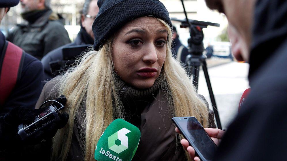 Foto:  La líder del colectivo del grupo neonazi, Melisa Domínguez Ruiz. (EFE)