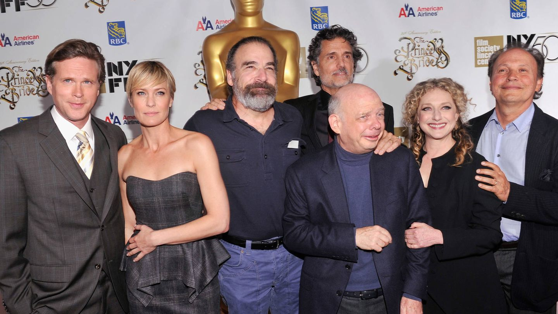 El reparto de 'La princesa prometida', en el 25º aniversario del estreno. (Getty)