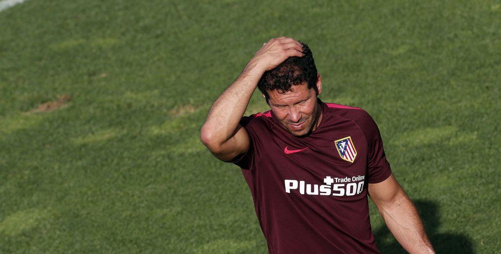 Foto: Simeone tendrá que hilar muy fino a la hora de confeccionar alineaciones y convocatorias con un plantel tan competitivo (EFE)