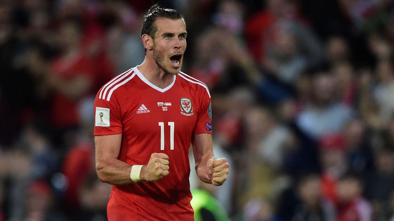 Gareth Bale celebra un gol con la selección de Gales   Reuters