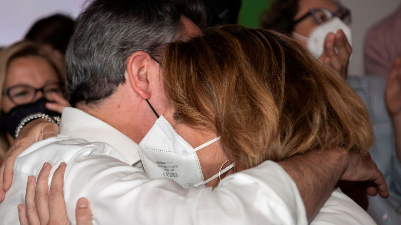 Juan Espadas y Susana Díaz. (EFE)