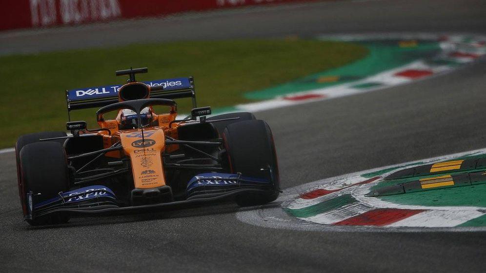 Foto: Carlos Sainz saldrá en séptima posición en el Gran Premio de Italia, por detrás de los dos monoplazas de Renault. (McLaren)