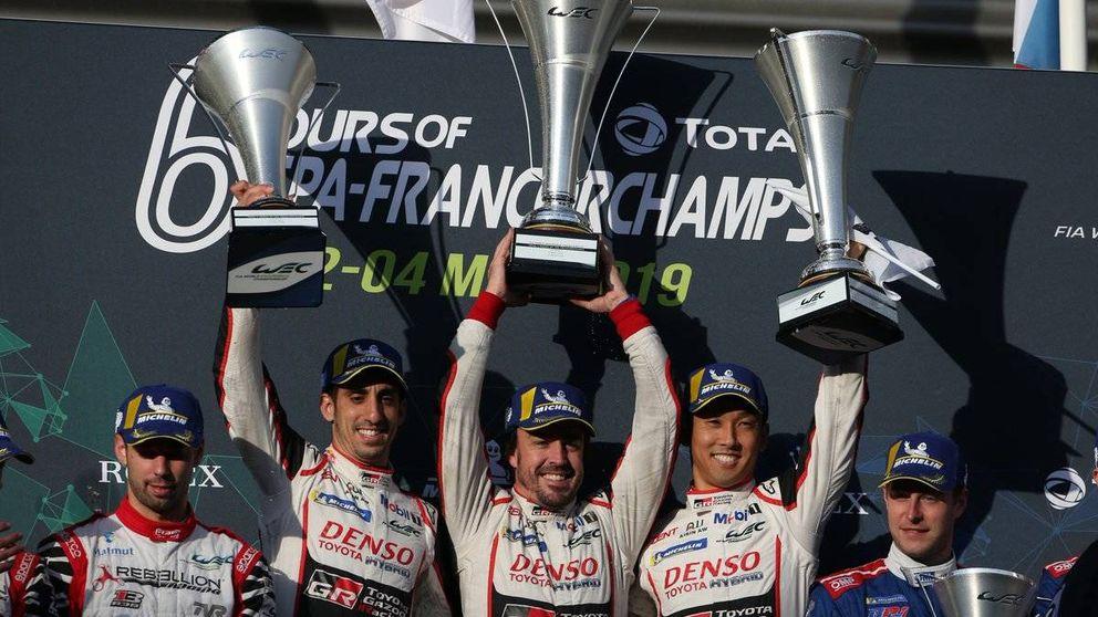 WEC | Resultado de las 6 Horas de Spa: el Toyota 8 vence y Alonso acaricia el Mundial