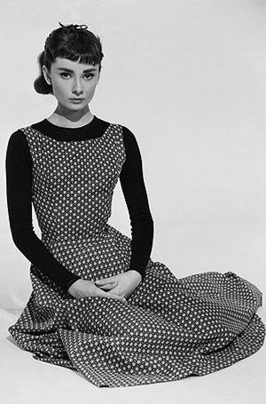La eterna Audrey cumple los 80 en Granada