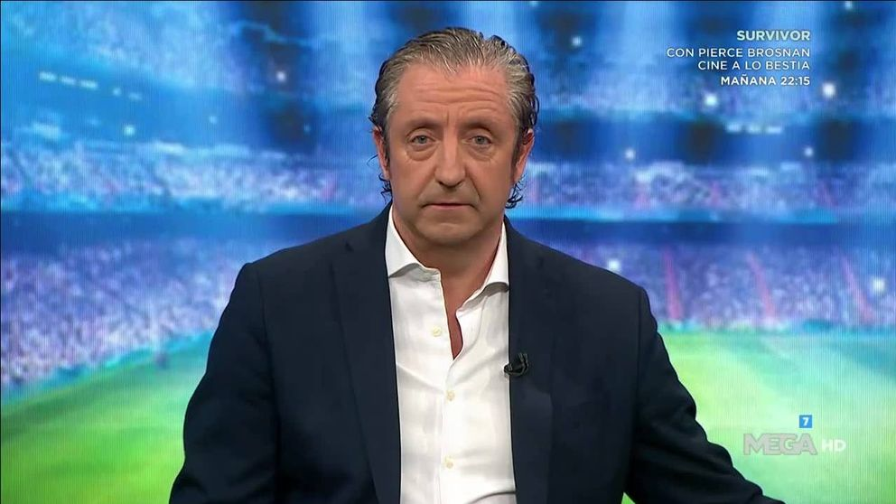 Josep Pedrerol se luce con la eliminación del Real Madrid de la Champions