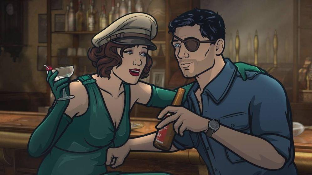 Foto: Un fotograma de la novena temporada de 'Archer'. (Movistar )