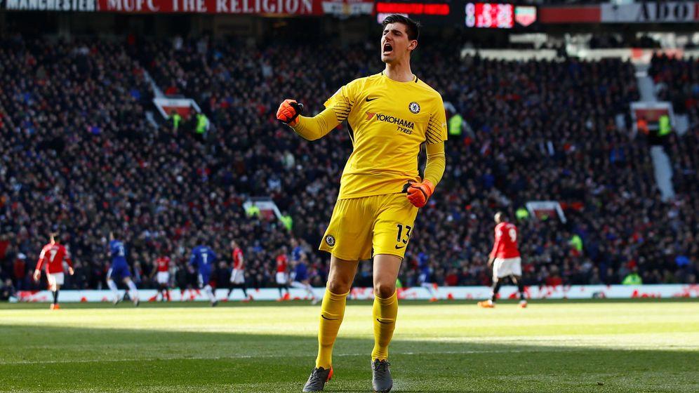 Foto: Courtois termina contrato con el Chelsea en 2019. (Reuters)