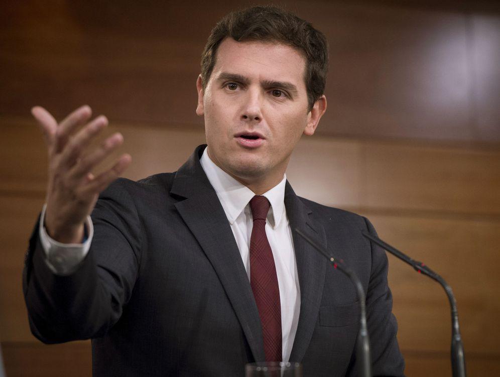 Foto: Albert Rivera, el gran beneficiado electoral de la crisis catalana. (EFE)