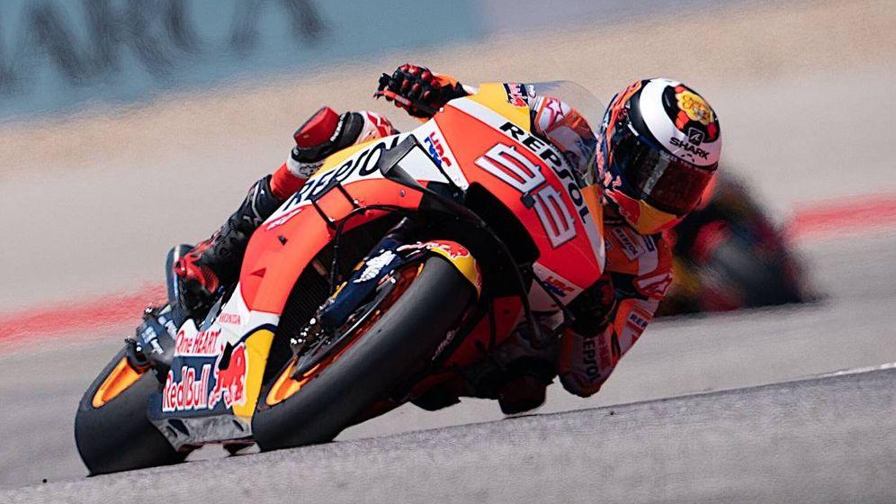 Foto: Jorge Lorenzo en su Honda.