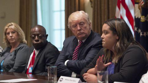 Trump se reúne con víctimas de inmigrantes