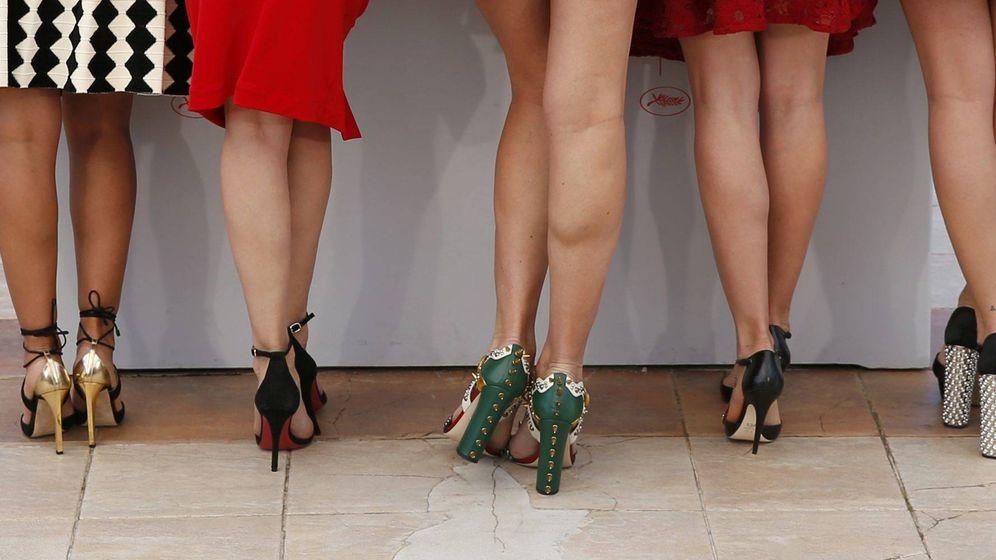 Foto: Las piernas de las chicas Almodóvar de 'Julieta' en el Festival de Cannes 2016. (Reuters)
