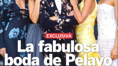 Las fotos del bodorrio de Pelayo y la elegancia de Letizia