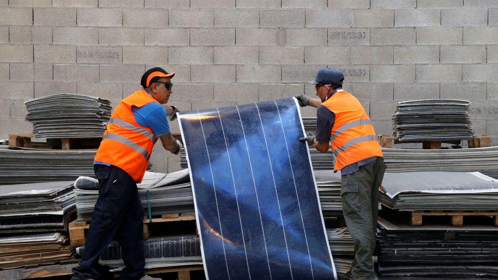 La 2ª vida de los paneles solares: así se reciclan las placas fotovoltaicas