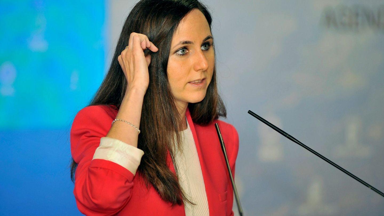 La actual líder de UP, Ione Belarra. (EFE)