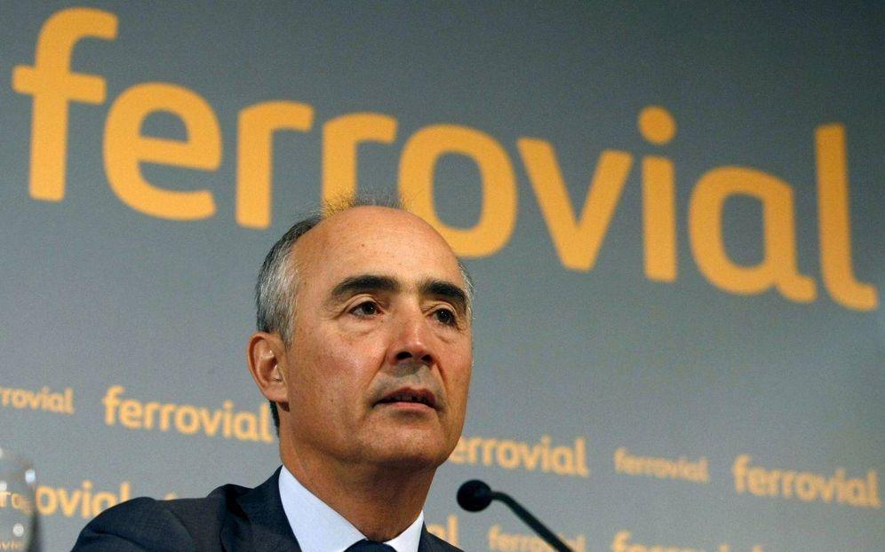 Foto: Rafael del Pino, presidente y accionista mayoritario de Ferrovial.