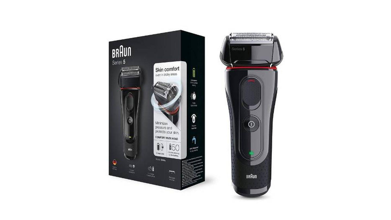 Mejor afeitadora Braun Serie 5 para hombres con barba