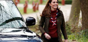Post de Kate Middleton, una 'girl scout' de palabra y de corazón en su último acto