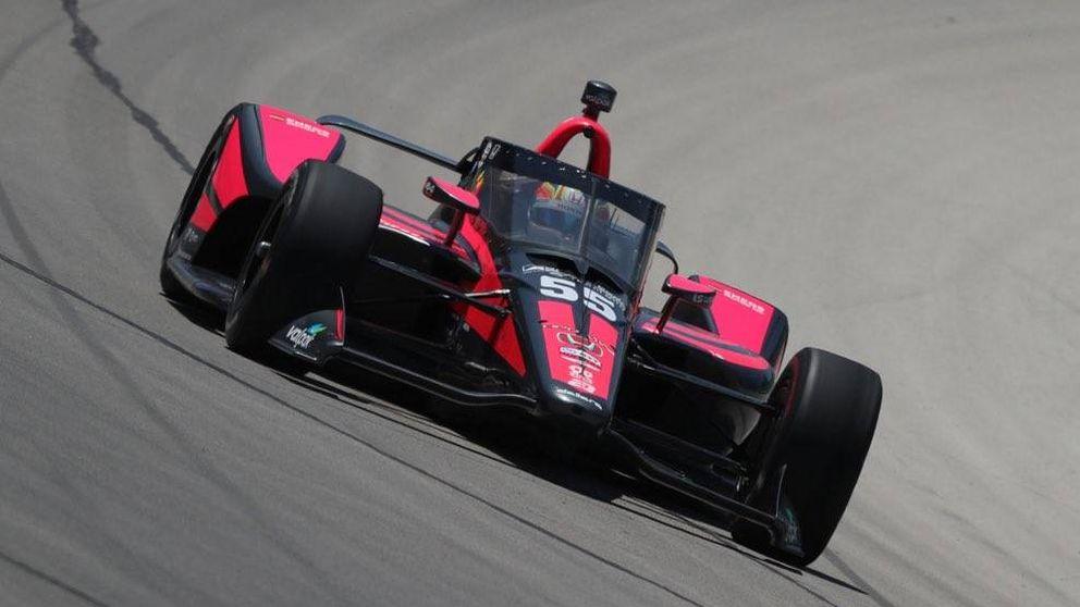 Contra el muro: la mala suerte se ceba con Álex Palou en su debut en la IndyCar