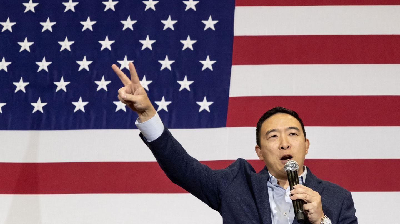 Andrew Yang. (Reuters)