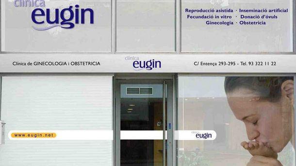 Foto: Fachada de la clínica Eugin