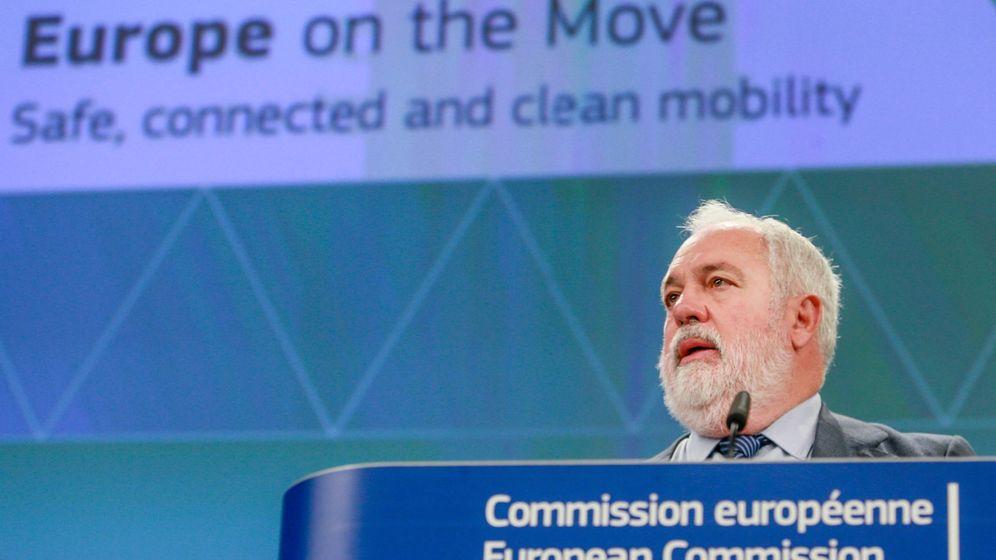 Foto: El comisario europeo de Acción por el Clima, Miguel Arias Cañete. (EFE)