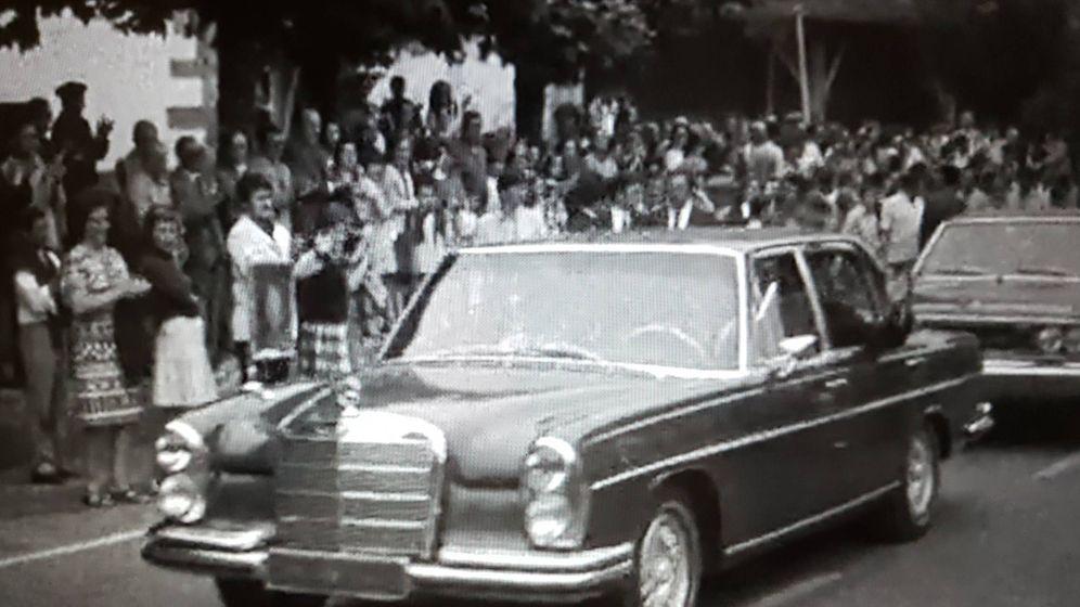 Foto: Mercedes Benz 300 SEL que fue de la Casa Real en los años 70