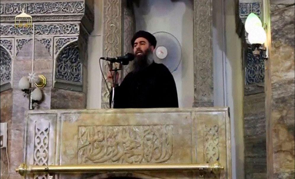 Foto: El líder del autodenominado Estado Islámico, Abú Bakr al Baghdadi. (Reuters)