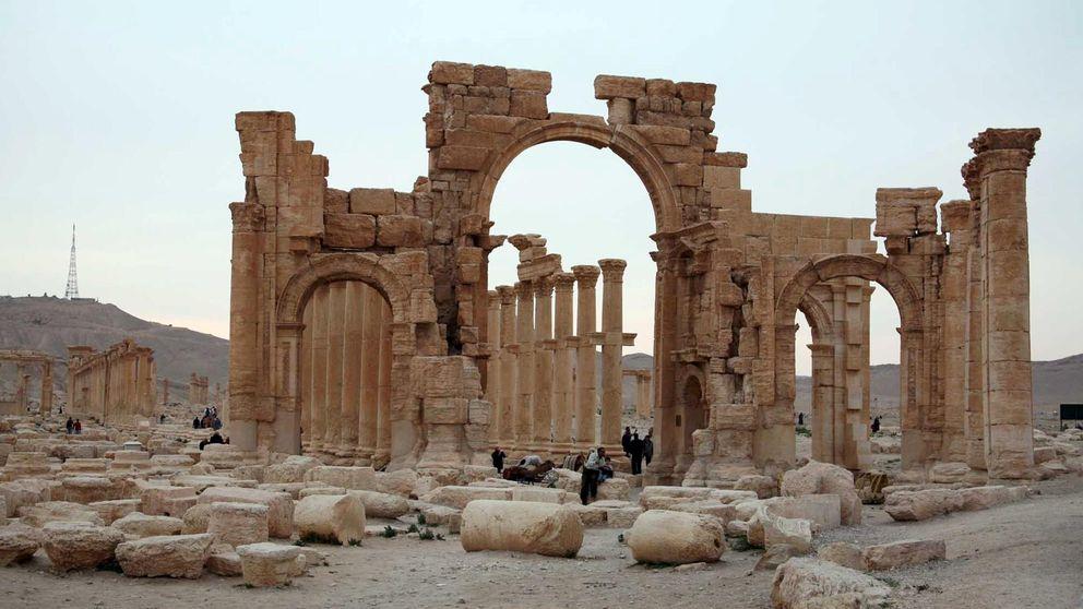 El Estado Islámico utiliza el teatro romano de Palmira para ejecuciones