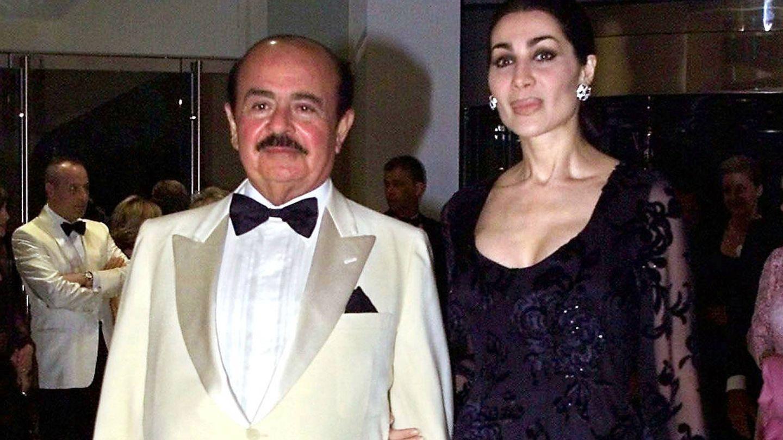 Shahpari Azam Zanganeh, tercera mujer de Adnan Khashoggi. (Reuters)
