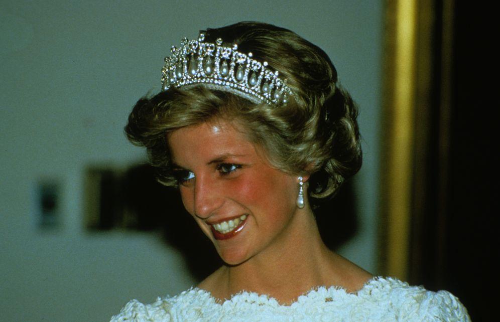 Foto: Diana de Gales el día de su boda. (Gtres)