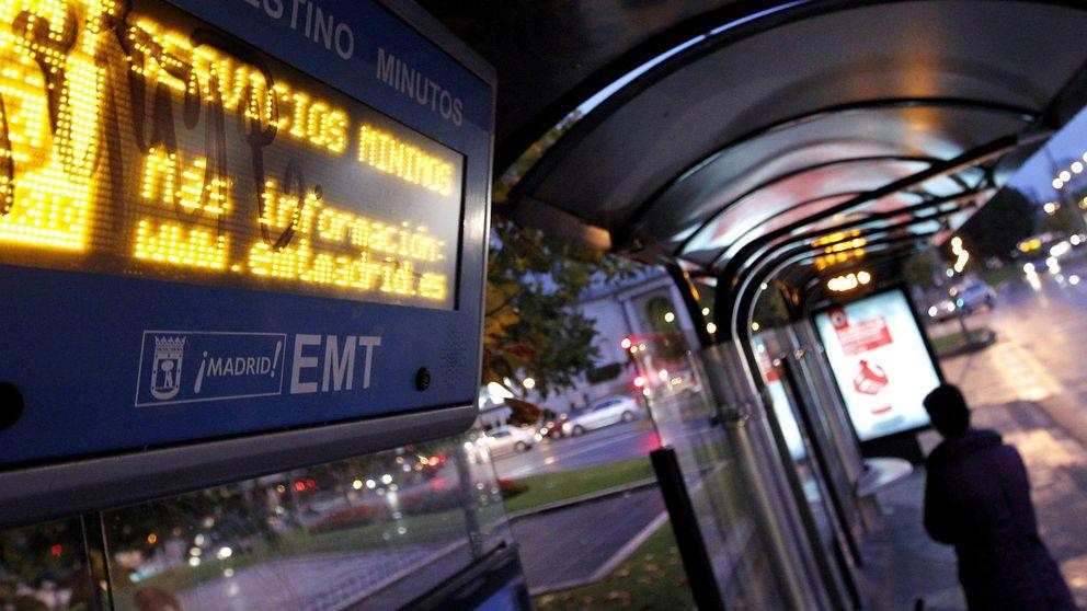 El cuento de nunca acabar de las marquesinas de autobús de Madrid