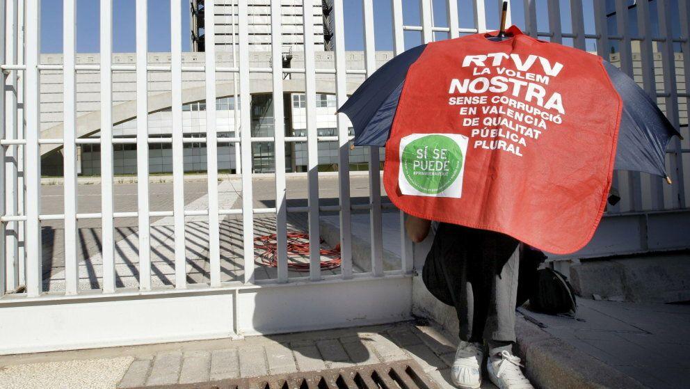 Siguen las protesta por el cierre de rtvv