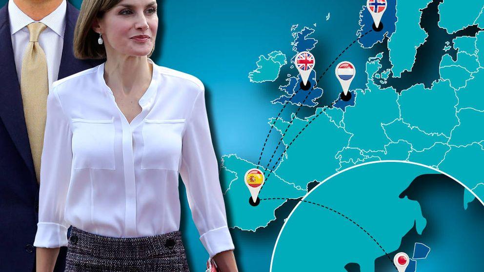 Una cita con Isabel II, un viaje a Japón y dos cenas: la agenda extranjera de Letizia
