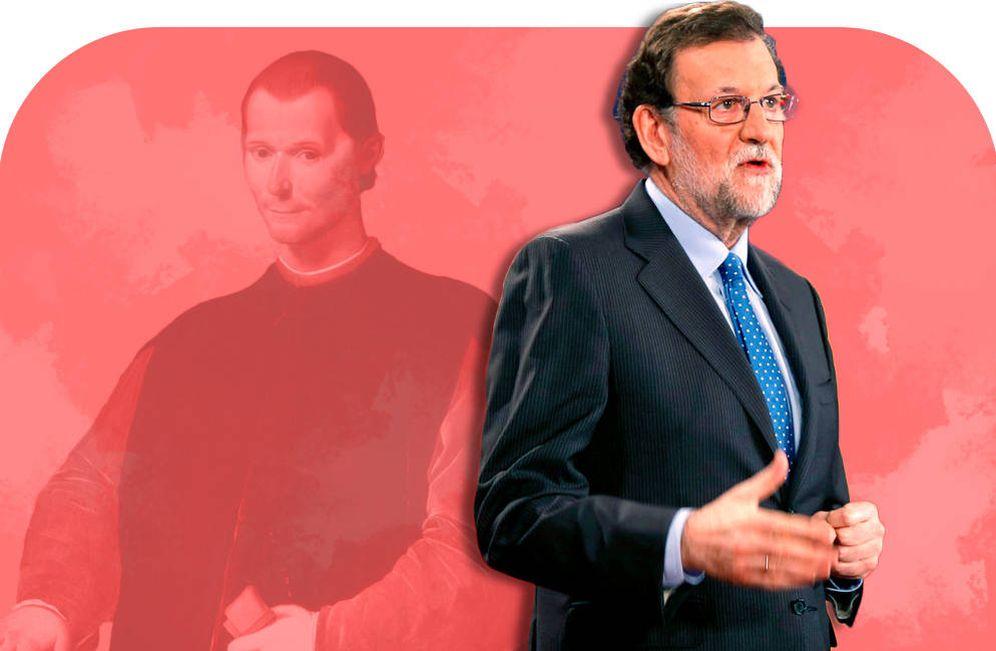 Foto: Maquiavelo y Rajoy.