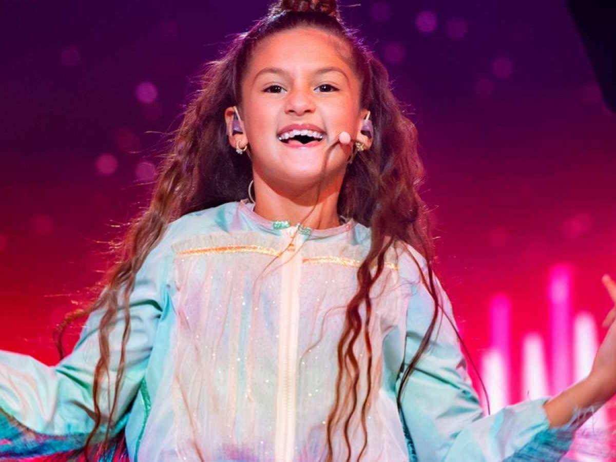 Foto: Soleá, representante española en 'Eurovisión Junior 2020'. (TVE).